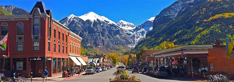 Colorado Ave. Telluride